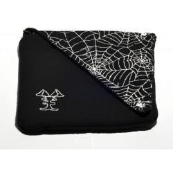 Pochette CD - motif toile d'araignée