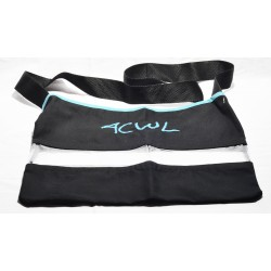 Blue ACWL Bag + transparent canvas
