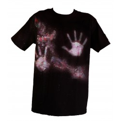 Galaxy Hand Men T-shirt