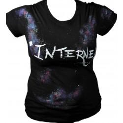 Tee-shirt femme galaxie