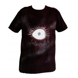 Tee-shirt homme - oeil galaxie